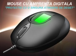 MOUSE  OPTIC CU AMPRENTA DIGITALA  Log on Windows, Criptare-decriptare fisiere, Memorare parole
